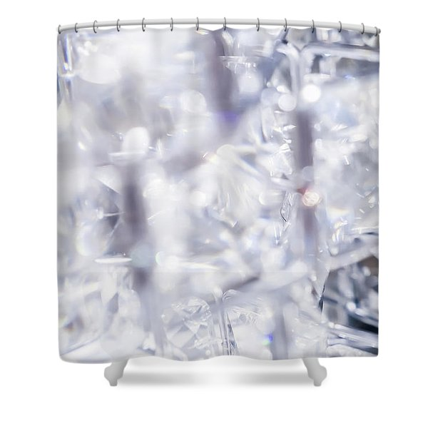 Crystal Bling II Shower Curtain