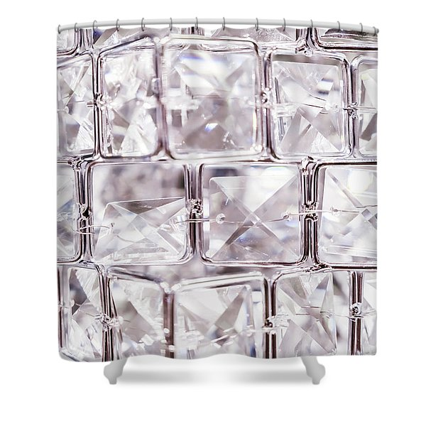 Crystal Bling IIi Shower Curtain