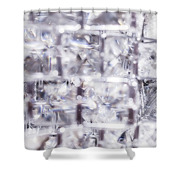 Crystal Bling Iv Shower Curtain
