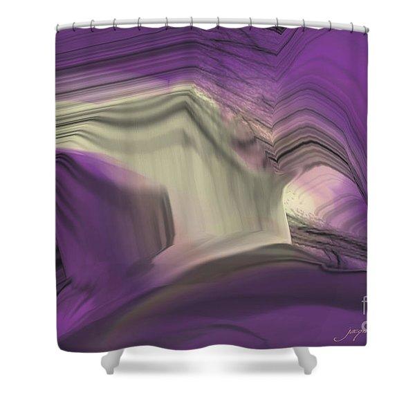 Crystal Journey Shower Curtain