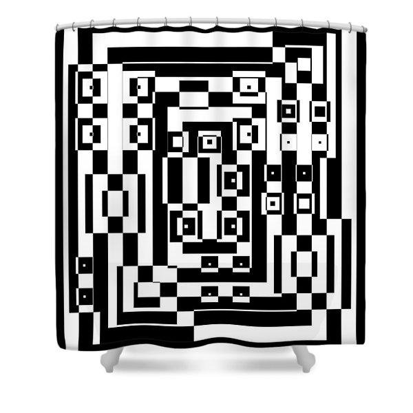 Cubical Cubes  Shower Curtain
