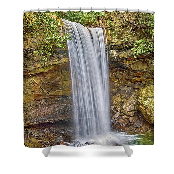 Cucumber Falls Shower Curtain