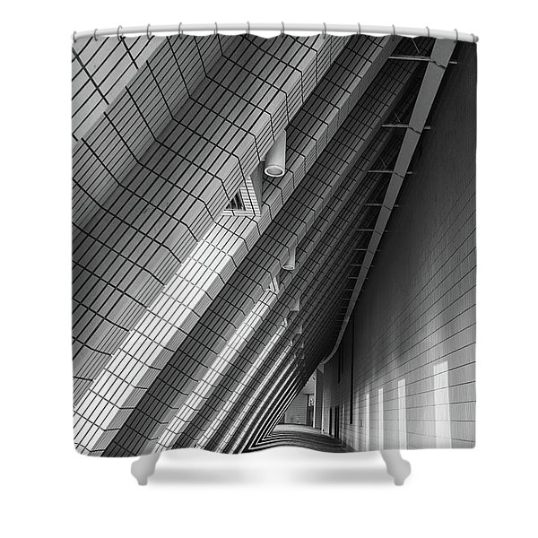 Cultural Centre Hong Kong Shower Curtain