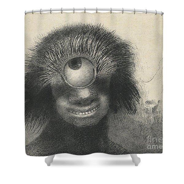 Cyclops Shower Curtain