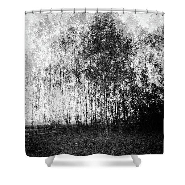 D1984p Shower Curtain