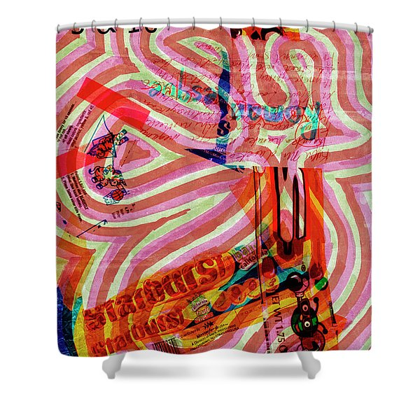 Daddy Jumps Shower Curtain