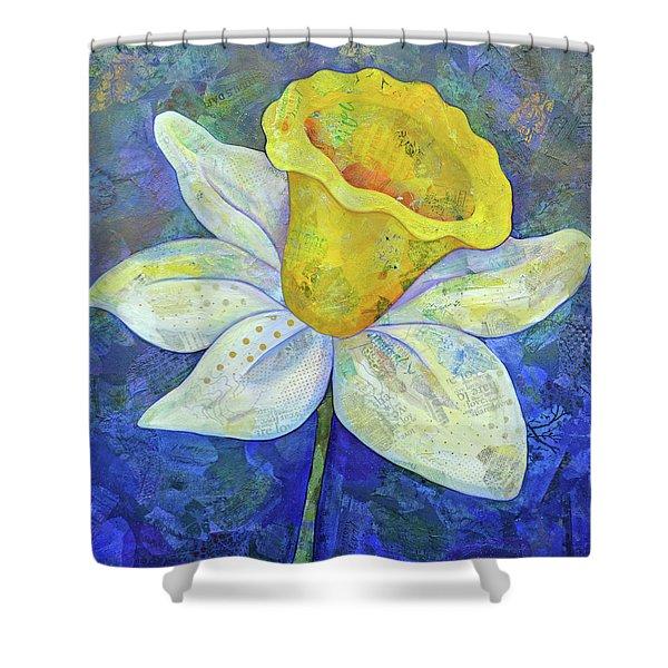 Daffodil Festival II Shower Curtain