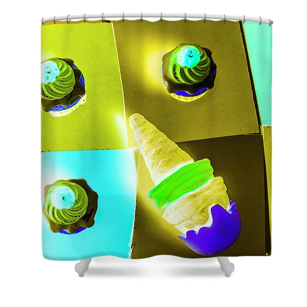 Dairy Design Shower Curtain