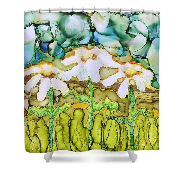 Daisy Impressions Shower Curtain