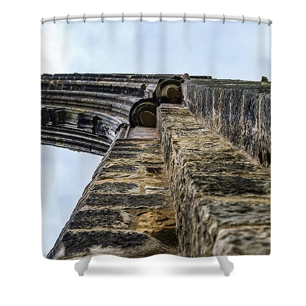 Dale Abbey Shower Curtain