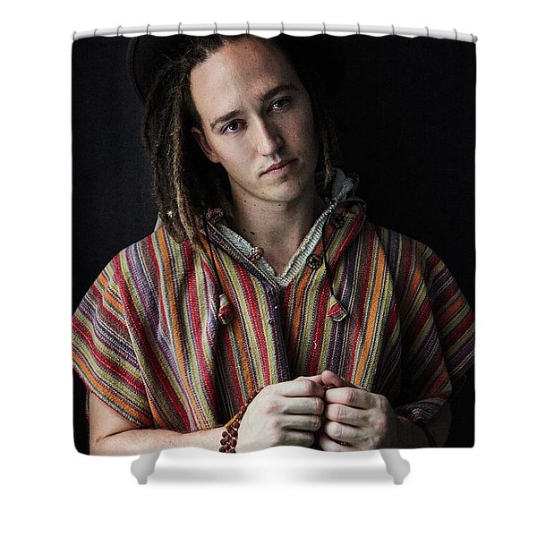 DAN Shower Curtain
