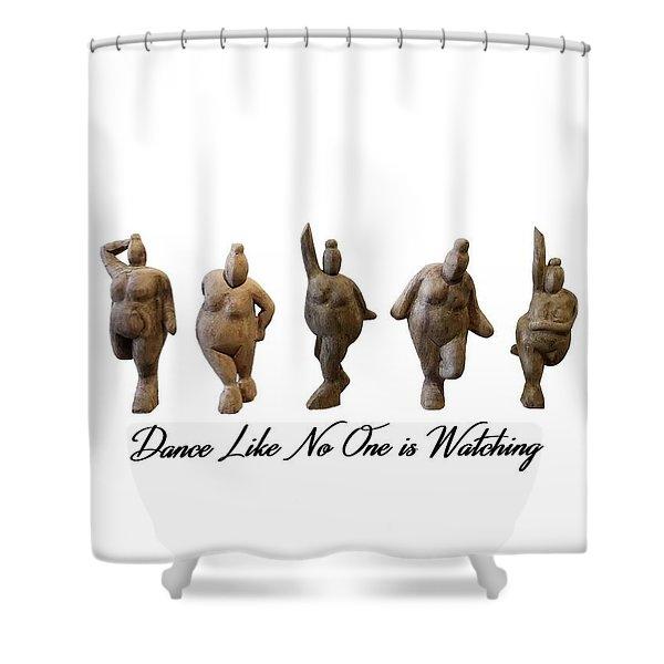 Venus - Dancing Crones Shower Curtain