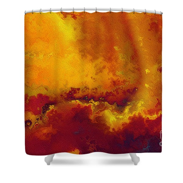 Daniel 6 27. He Delivers And Rescues Shower Curtain