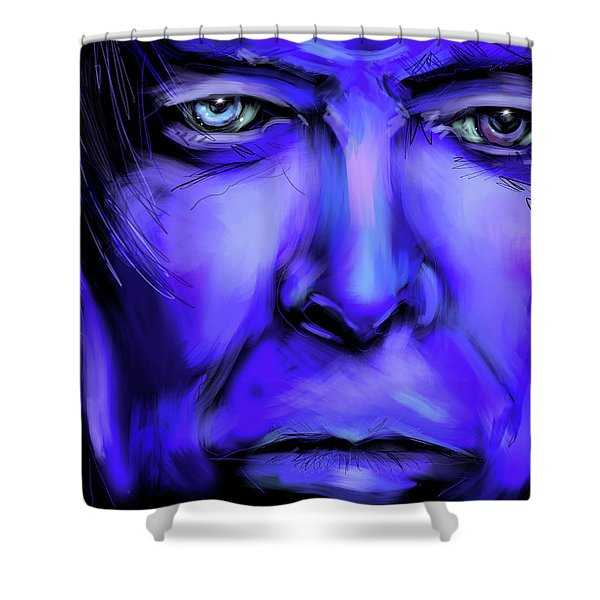 David Bluey Shower Curtain