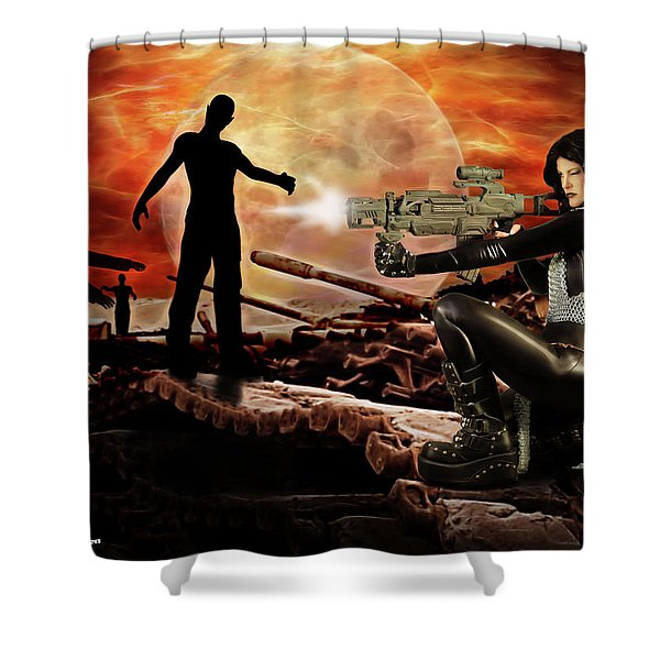 Dawn Of The Dead Shower Curtain