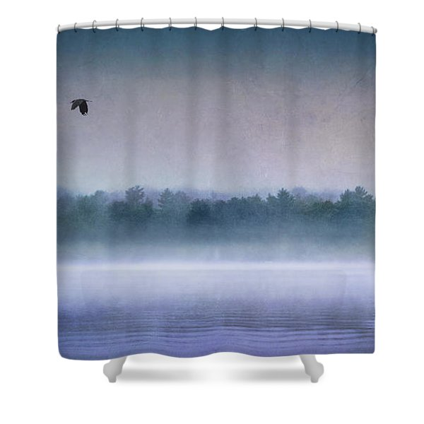 Dawn Of The Fog Shower Curtain