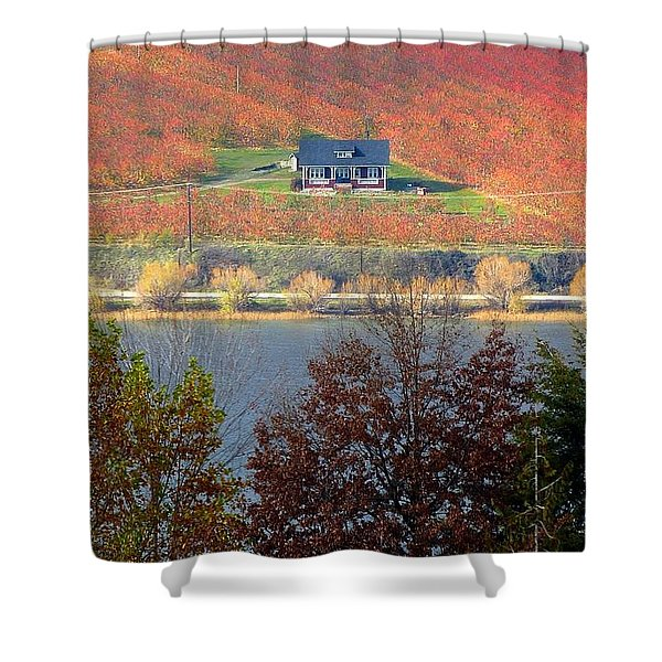 Days Of Autumn 26 Shower Curtain