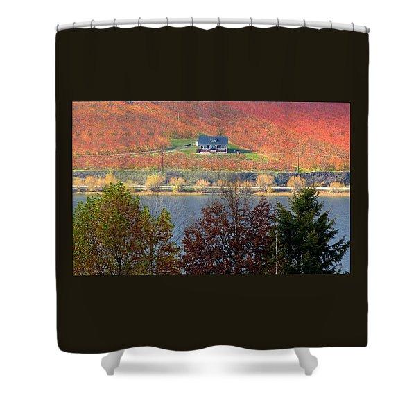 Days Of Autumn 26 Shower Curtain