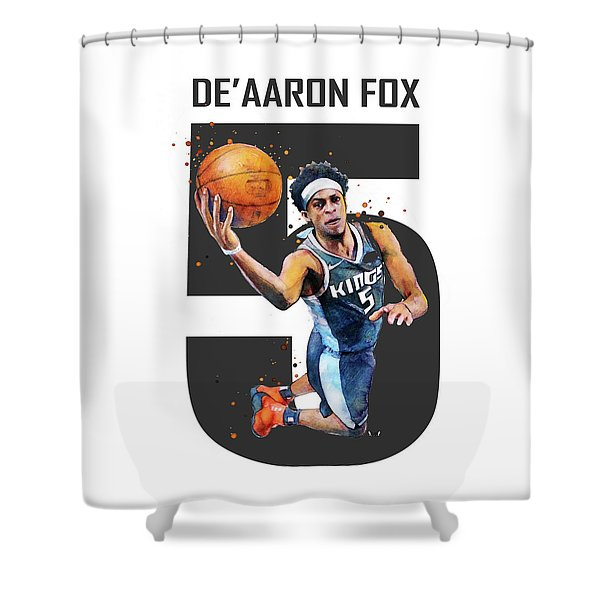 De Aaron Fox, Sacramento Kings, Nba Shower Curtain