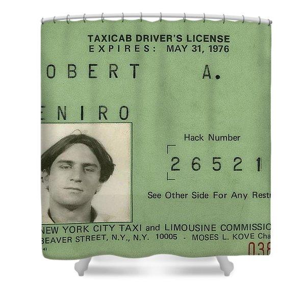 De Niro Shower Curtain