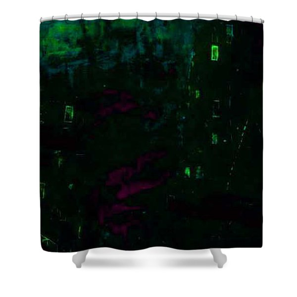 Dead Horn Midnite Shower Curtain