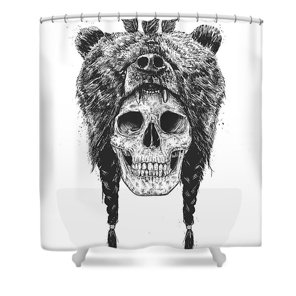 Dead Shaman Shower Curtain