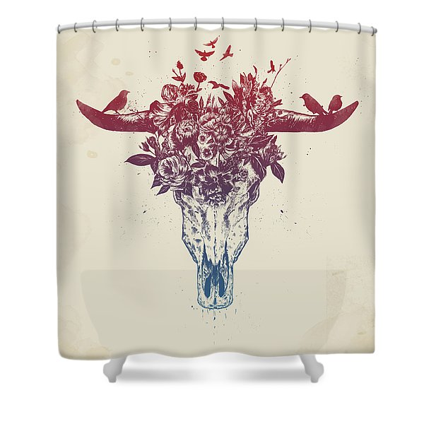 Dead Summer Shower Curtain