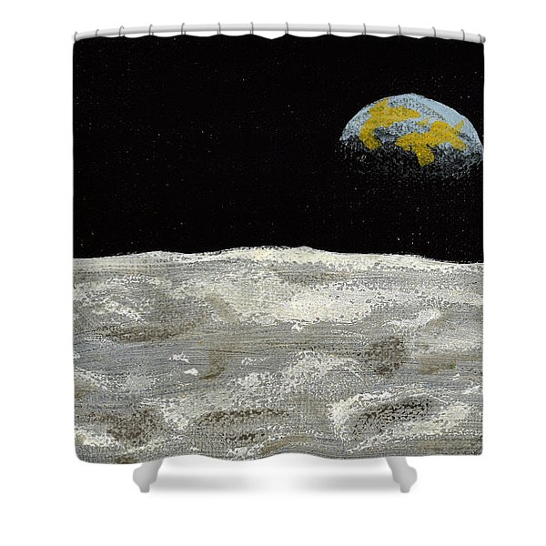 Death By Starlight Shower Curtain