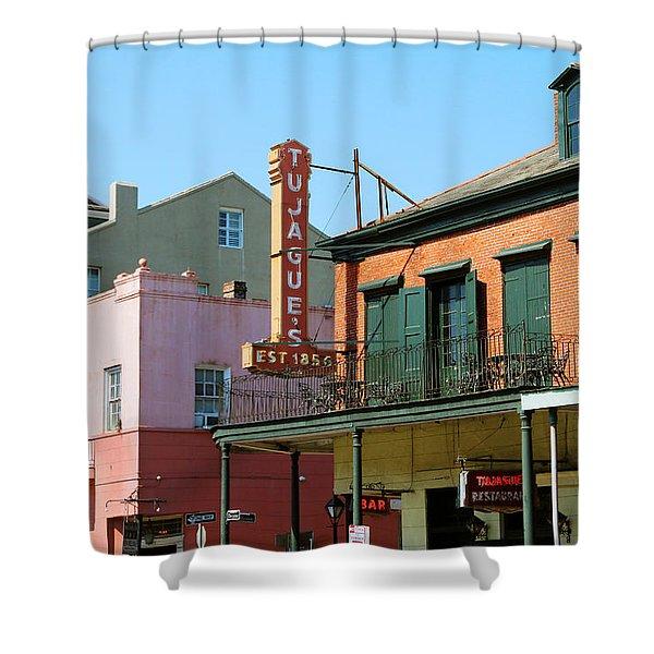 Decatur Street - French Quarter Shower Curtain