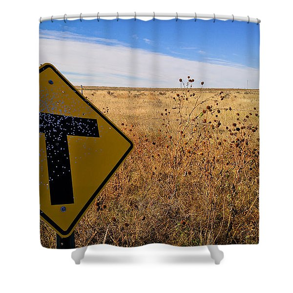 Decision Time Shower Curtain