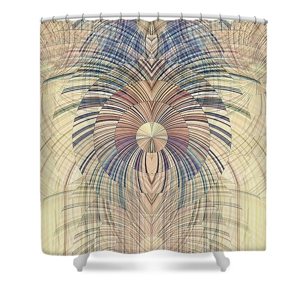 Deco Wood Shower Curtain
