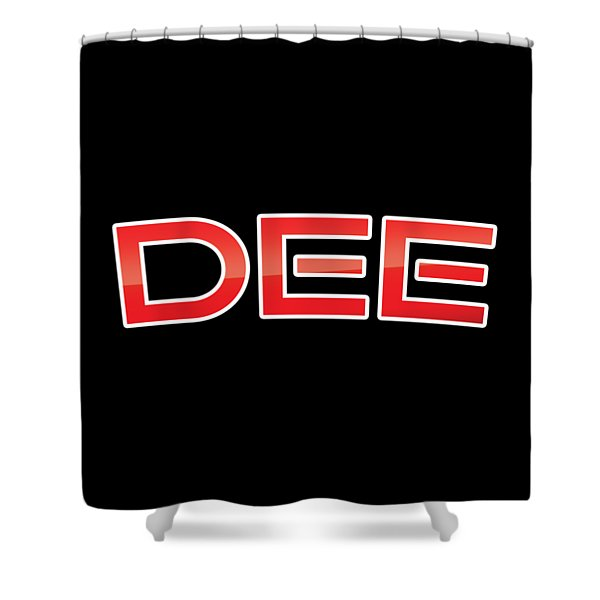 Dee Shower Curtain