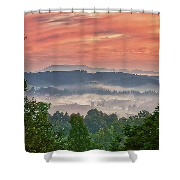Shower Curtain featuring the photograph Deer Valley Sunrise by Meta Gatschenberger