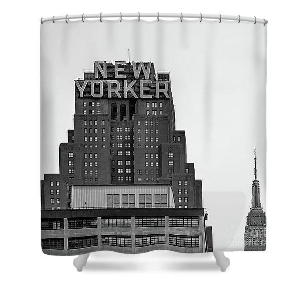Defining New York Shower Curtain