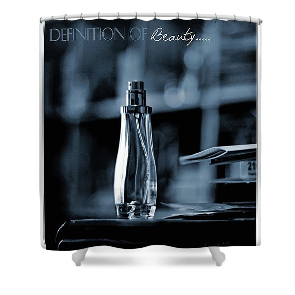 Definition Of Beauty Shower Curtain