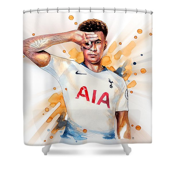 Dele Alli, Tottenham Hotspur Shower Curtain