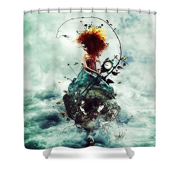 Delirium Shower Curtain