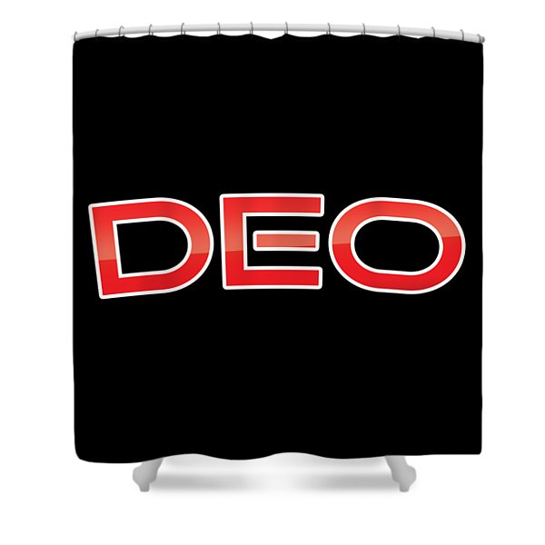 Deo Shower Curtain