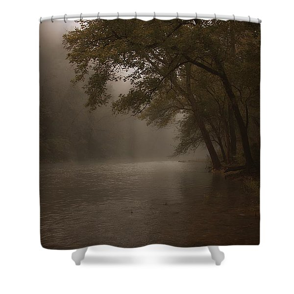 Depth Of Solitude  Shower Curtain