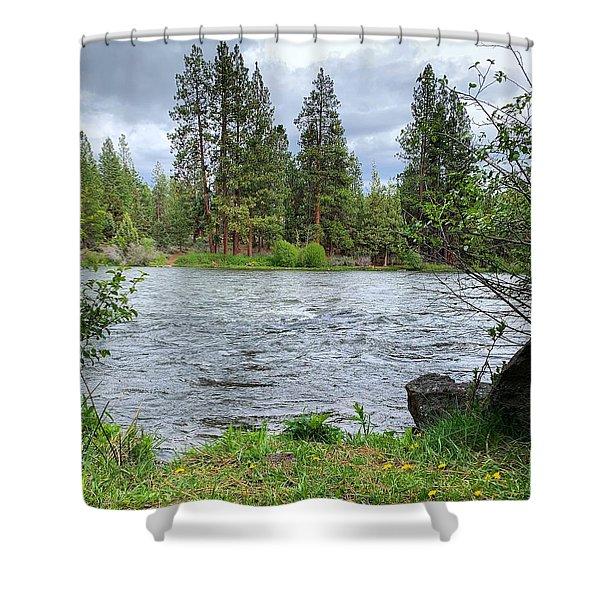 Deschutes River Shower Curtain