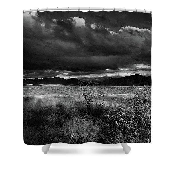 Desert Shadow Moods Shower Curtain