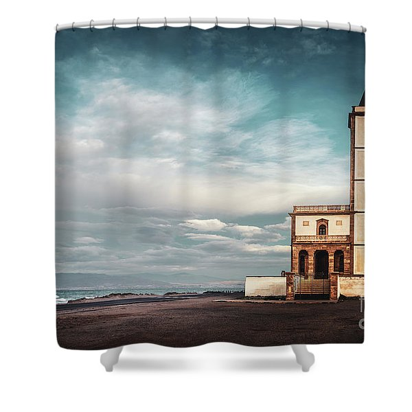Desolation Angel Shower Curtain