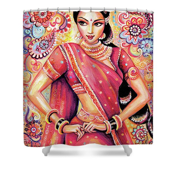 Devika Dance Shower Curtain