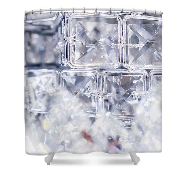 Diamond Shine IIi Shower Curtain