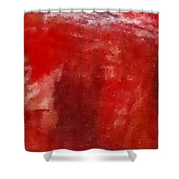 Digital Abstract N12. Shower Curtain