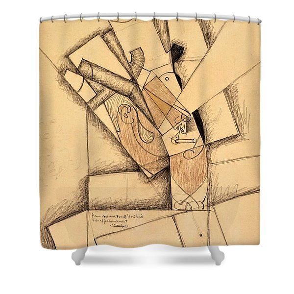 Digital Remastered Edition - The Smoker Shower Curtain