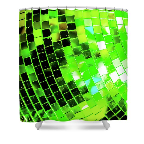 Disco Ball 2 Shower Curtain