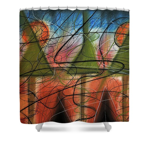 Disturbance At Lake Shower Curtain