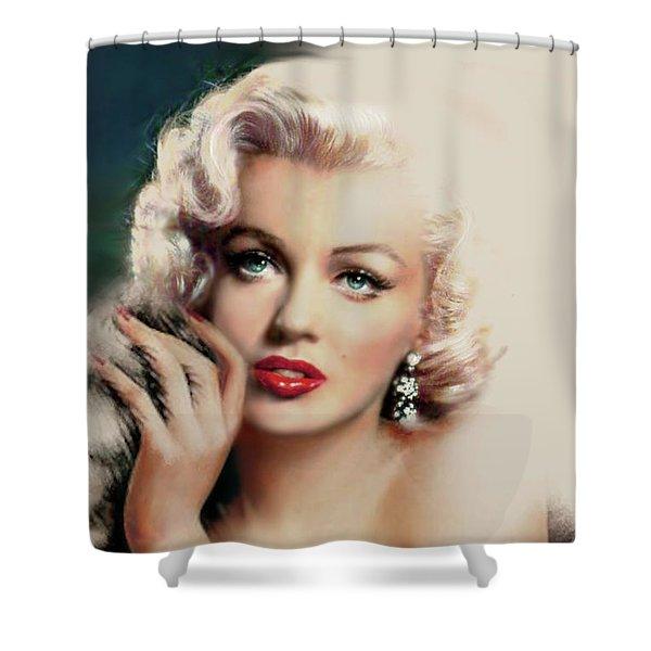 Diva Mm 169 Rose Shower Curtain