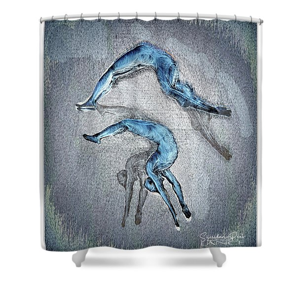 Dive Into Your Life Shower Curtain